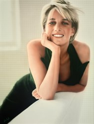 Princess Diana by Nick Holdsworth -  sized 35x46 inches. Available from Whitewall Galleries